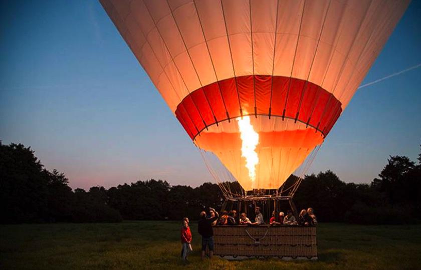 Ballon flyvning