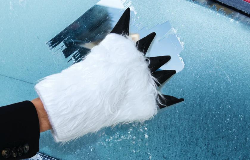 Isskraber med pote