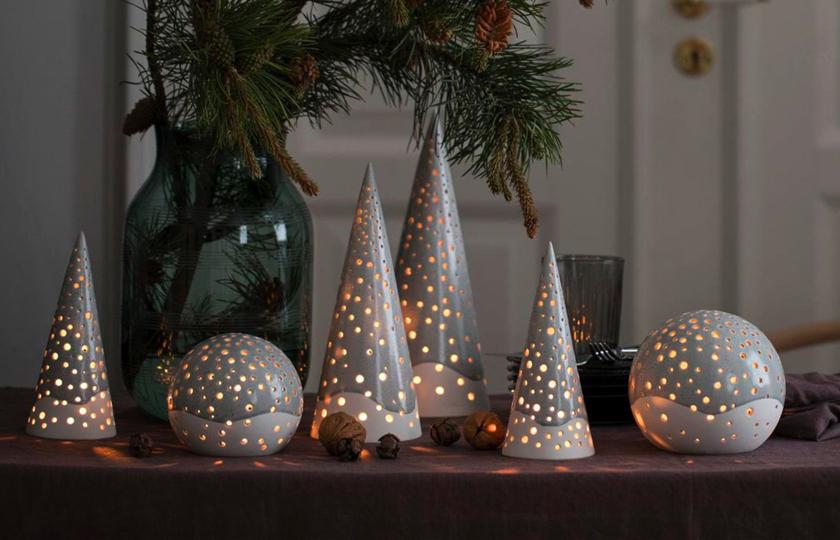 Nobili juletræ fra Kahler