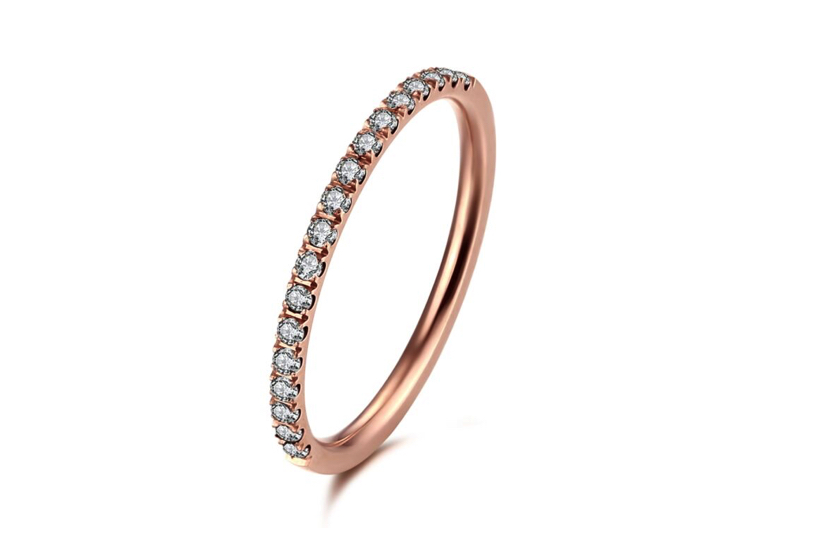 Rosegold Ice by krans ring