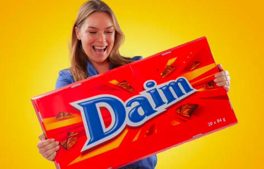 Stor Daim chokolade