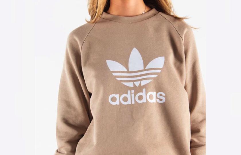 adidas sweatshirt brun