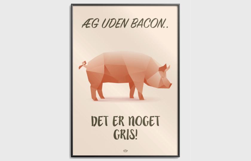 bacon plakat