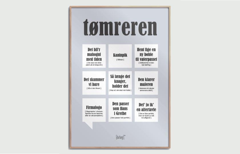 citatplakat tomreren plakat