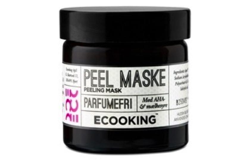 ecooking peel ansigtsmaske