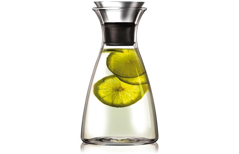 klar glas vandkande