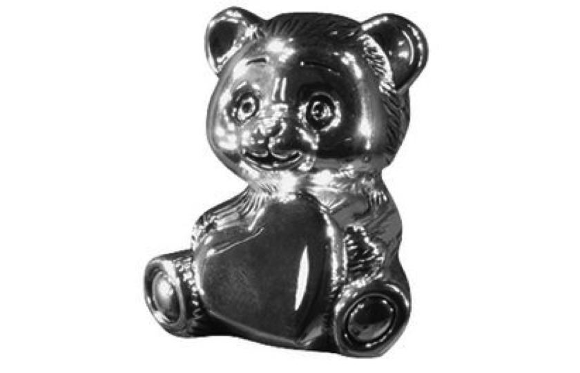 forsoelvet teddy sparegris
