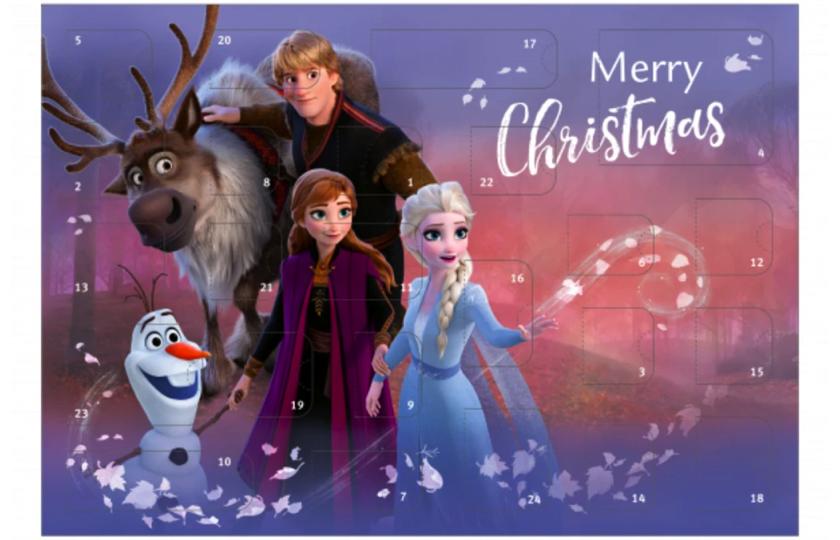 disney frost julekalender