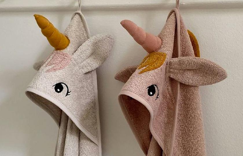 håndklæde til barn