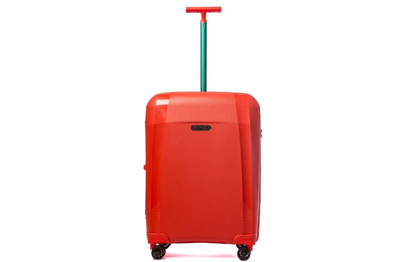 orange rejse kuffert