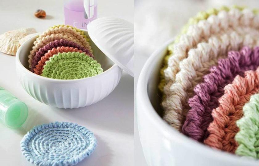 strikkede rondeller