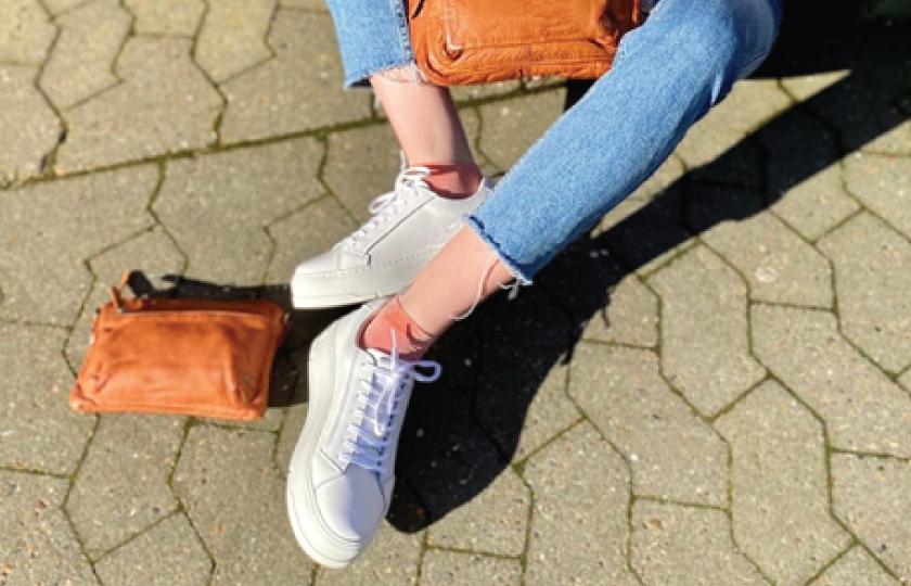 Judy Læder Sneakers - Hvid