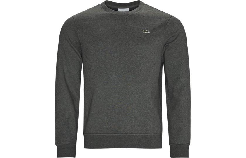 lacoste graa sweatshirt