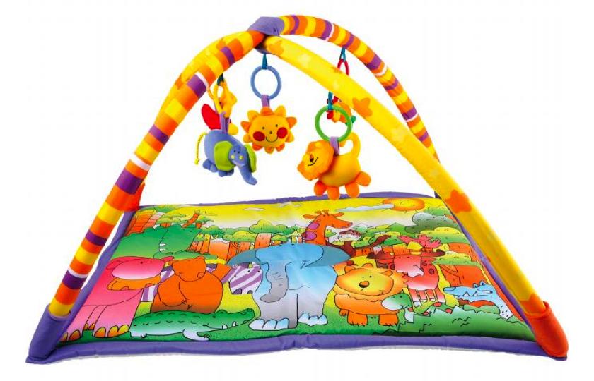 jungle legetaeppe til baby