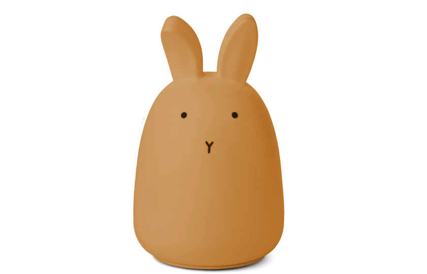 gul kanin natlampe