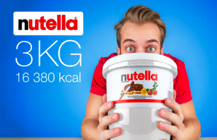 nutella spand 3kg