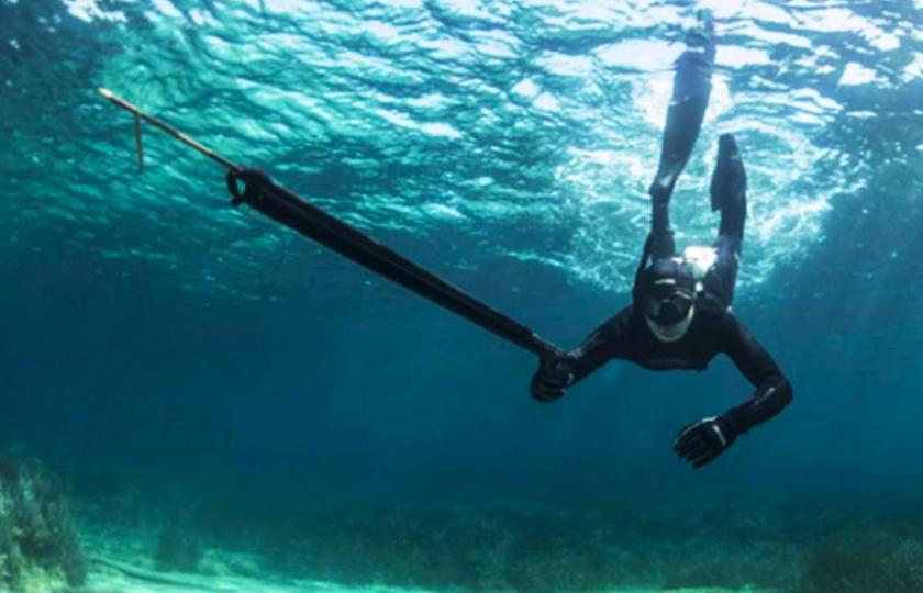 oplevelse undervandsjagt