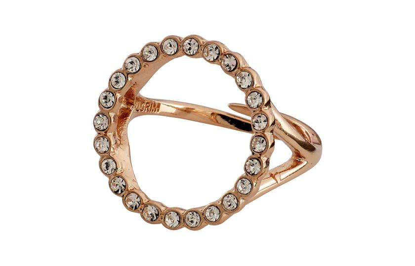 pilgrim rosaguld ring