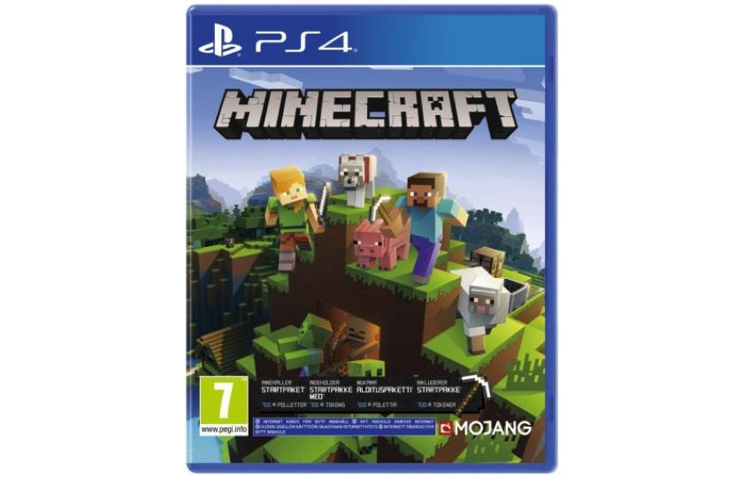 minecraft playstation spil