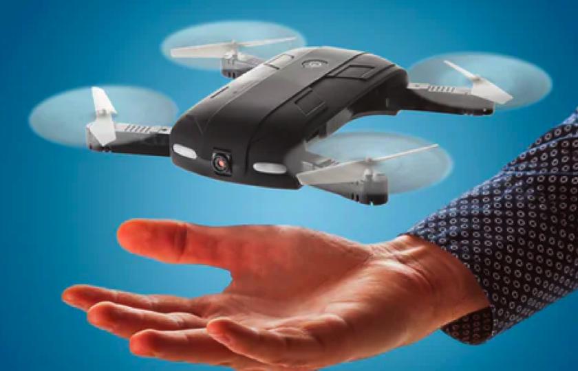 sammenfoldelig drone