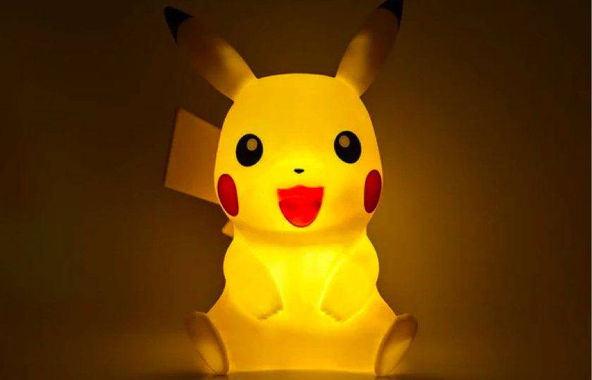 pokemon pikachu lampe