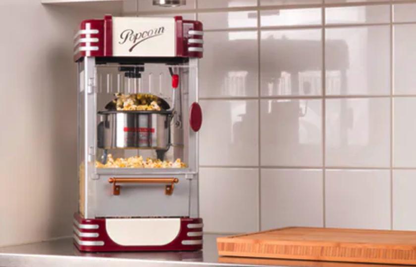 pop selv popcorn maskine