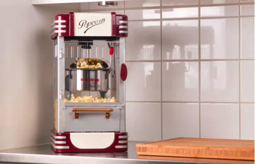 popcorn maskine retro