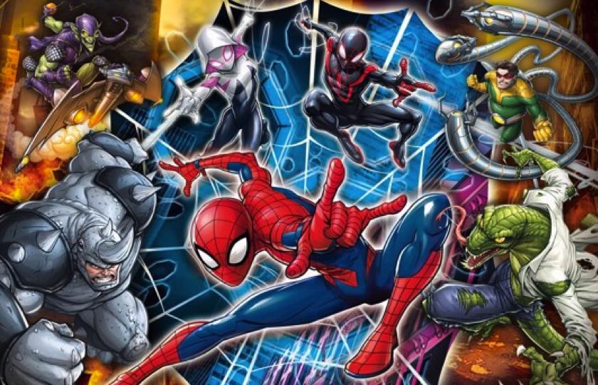 spiderman puslespil