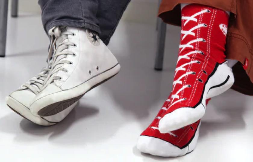 sneaker motiv stroemper