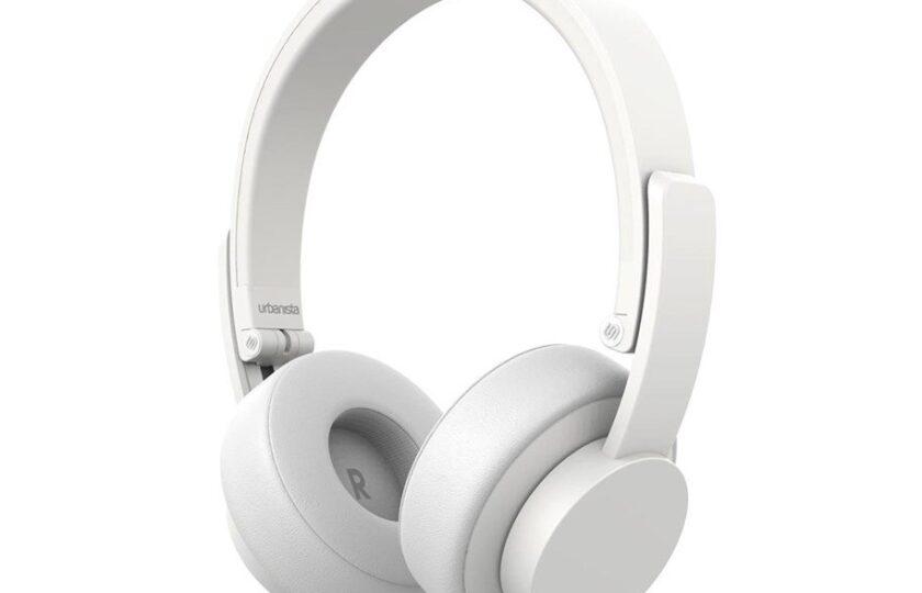 hvidt headset